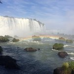 Beautiful view of the falls.