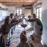 la partenza perfetta per una bellissima giornata...Cooking class in San Gimignano
