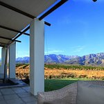 Honeymoon suite self catering unit with hot tub and stunning mountain and citrus orchard views