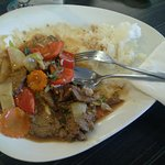 The beef stank and tasted like a cowshed (picture 1/2).