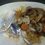 The beef stank and tasted like a cowshed (picture 2/2).