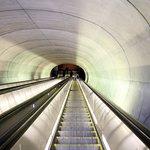 Escalator at Dupont Metro Station