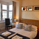 Room 3 - The Paignton Beach Room.  Just look at the view out of that window!