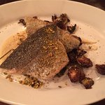 The trout main course