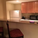Kitchenette with no amenities. Room 1714