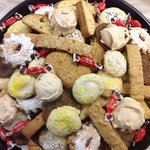 Assorted Italian Biscotti & Cookies are available daily