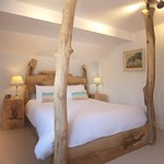 Rhinefield Room, made from an Ash Tree that fell in a farm in the forest. Lovely room.