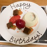 Birthday delight, the flavours in this special desert on the day were remarkable.