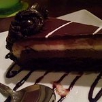 Black Tie Mousse Cake. Lovely presentation