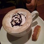 Peppermint Mocha which was ordered by my son.