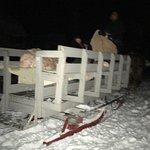 Winter sleigh ride through historic Bay View village