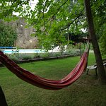 Laze away a warm afternoon in the hammock with the occasional cooling dip just to make it perfec