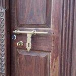 Sistema para cerrar las puerta muy frecuente en el archipiélago