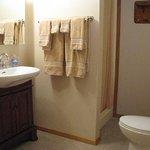 Second bathroom in vacation rental