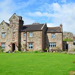 The B&B occupies the old farmhouse attached to the Priory.