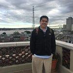 Rooftop observation deck