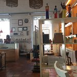 Cute shop with artisanal gifts