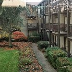 Nicely landscaped interior courtyards