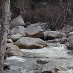 Kaweah River - runs next to the Gateway Restaurant