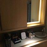 Coffee machine and sink