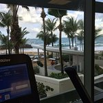fitness center ocean view