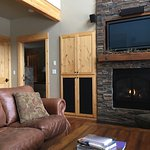 """We are here after an unusually heavy snowstorm.  Views from all the """"cabins"""" are beautiful."""