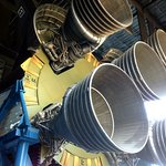 Massive Apollo Rocket Engines up close