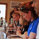 Tasting Wines in the Willamette Valley