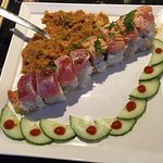 One of Their Great Sushi Rolls
