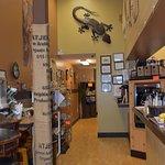 Interior of Hinee Coffee Co.