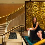 METROPOLITAN HOTEL VANCOUVER- Marble Lobby and Staircase