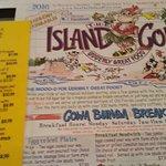 The Island Cow Foto