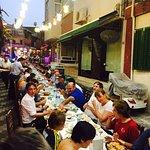 Enjoying Iftar