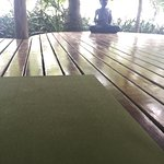 yoga studio on the beach