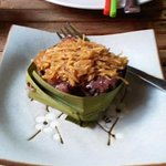 Fabulous black sticky rice with coconut