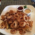 Calamari was sublime!