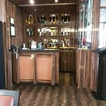 Little bar corner in the restaurant