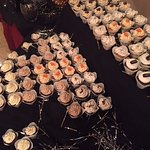 96 mini cupcakes for a company party! Everyone LOVED!