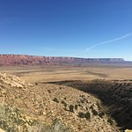 Vermillion Cliffs from a scenic overlook on US-89A.