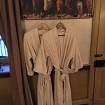 Spa-quality robes - lovely touch