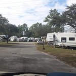 View of campgrounds