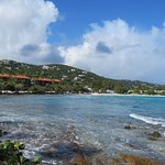 View towards the main beach