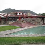 the main house of Taliesin West