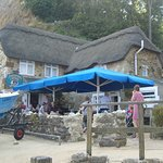 On the beach, at the foot of the Chine is Shanklin's best-kept secret - the Fisherman's Cottage