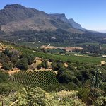 The view of the Constantia Valley from Eagles Nest