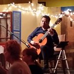 superb guitarist added truly fine music to the evening of great food and service