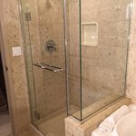 Stand alone shower in Tower room