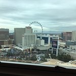 daytime view of the strip from tower room