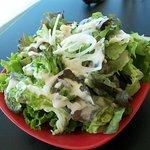 Local salad.