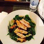 Room service - vitality chicken salad! Mmmmmmmm